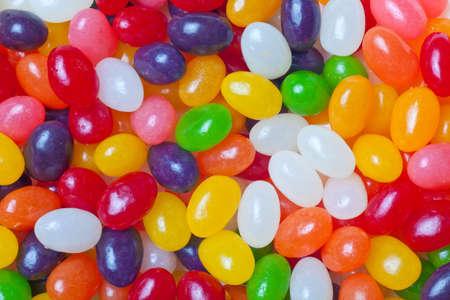 jelly beans: jelly bean di multicolore sfondo o sfondo Archivio Fotografico