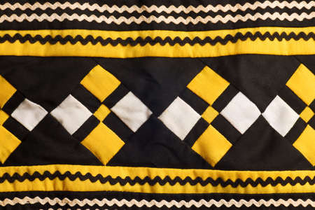 Native American Seminole Handmade Quilted Patterns Stock Photo Inspiration Native American Quilt Patterns