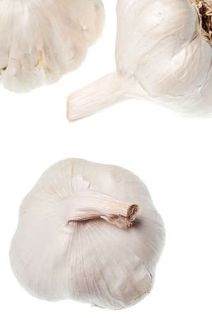 garlic isolated on a pure white background Stock Photo - 5523114