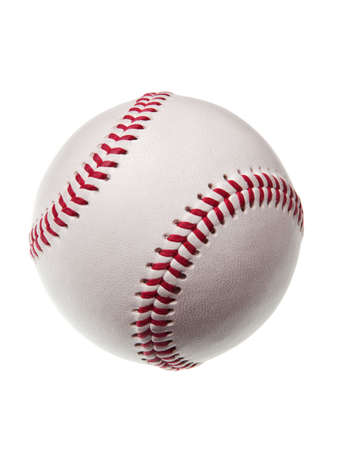 new baseball isolated on white background Stock Photo