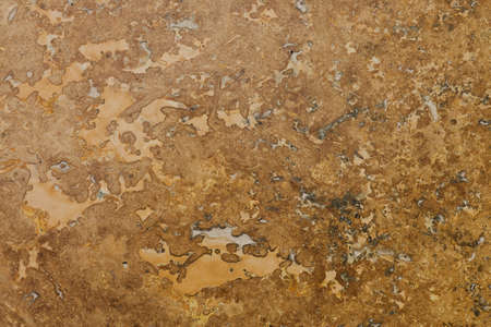 Travertine Stone Floor Tile Abstract Background Closeup photo