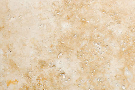 Travertine Stone Floor Tile Abstract Background Closeup