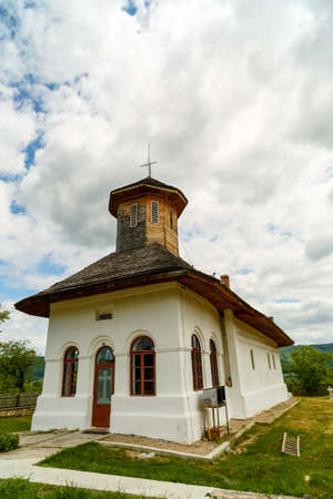 country church: Old country church in romania