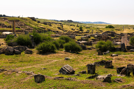 ruins of the ancient city Hieropolis
