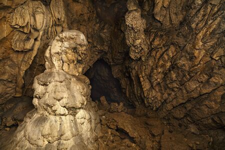 palaeolithic: geological formation in cave