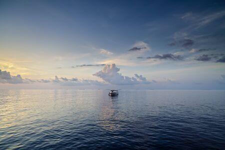 idyllic: scene with an idyllic landscape in Maldives