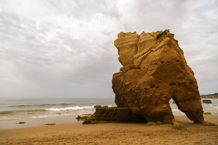 atlantic ocean: beautiful beach on the Atlantic Ocean, Algarve, Portugal