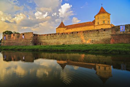 Fagaras Fortress, the city of Fagaras, Romania