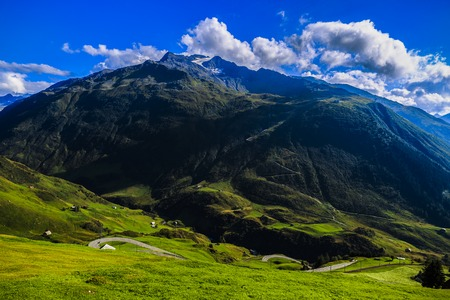 alpen: wonderful landscape in the Alps, Switzerland