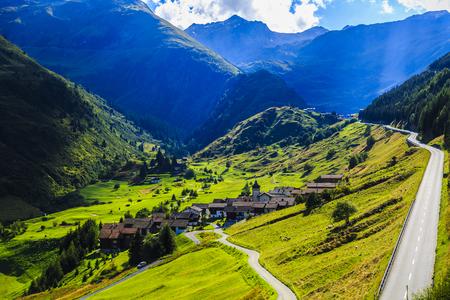 alp: wonderful landscape in the Alps, Switzerland