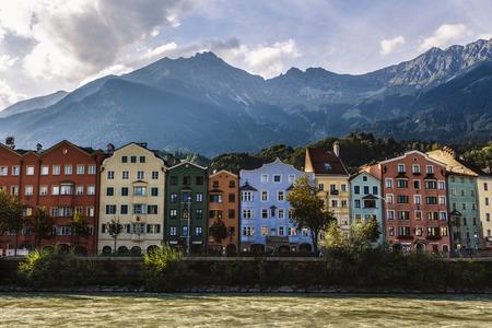 houses overlooking the Danube in Salzburg