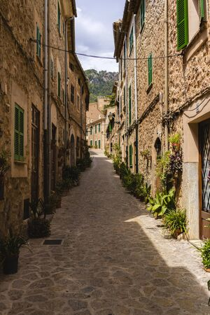 images from the city of Valldemossa in Palma de Mallorca.