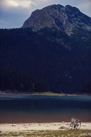 Black Lake, in the Municipality of Žabljak in northern Montenegro