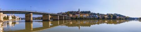 Passau Panorama on the City.
