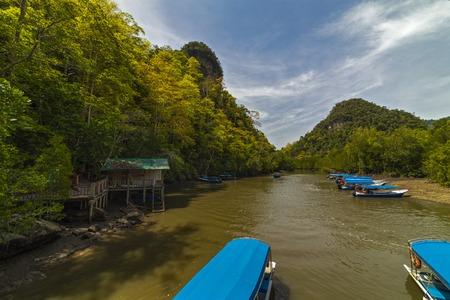 Kilim Geoforest Park, Langkawi, Maleisië Stockfoto