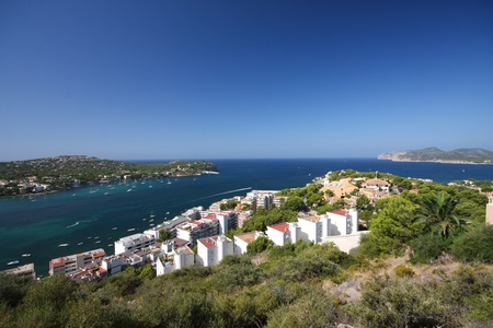 View of Santa Ponsa, Mallorca Stock Photo