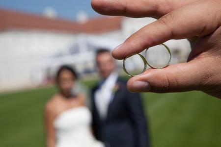 fidelidad: Detalle de la boda de los anillos