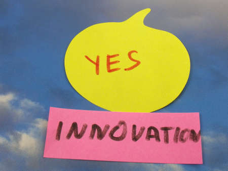 word yes  innovation photo