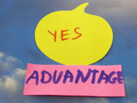 advantage: word yes,advantage