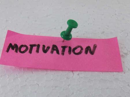 word motivation photo