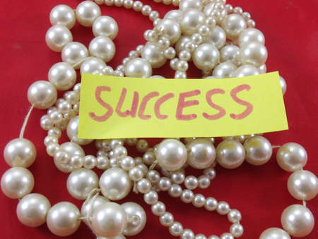 word success and pearls photo