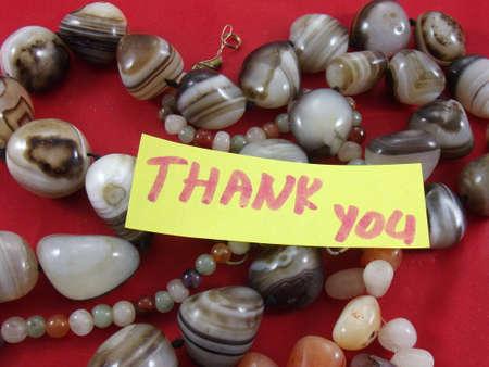 word thank you Stock Photo - 17319214