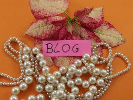 word blog Stock Photo - 17421414