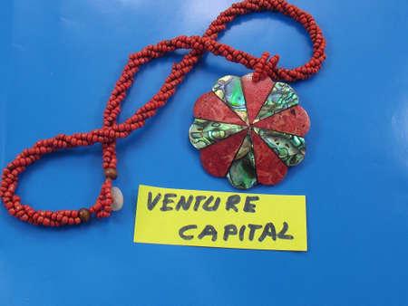 pooled: word venture capital Stock Photo