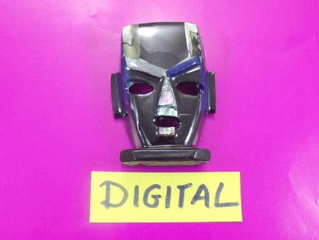 word digital photo