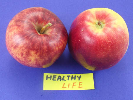 word healthy ,life photo