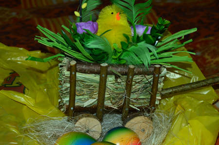 Easter decorations photo