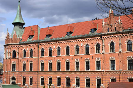 southern poland old building: building seminar In Poland