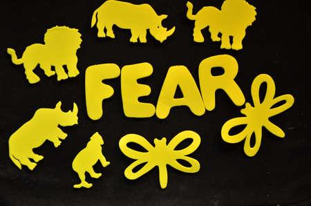 braveness: word fear