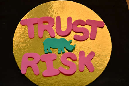 word trust,risk photo