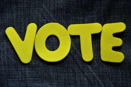 word vote photo