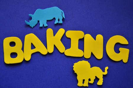 word baking photo