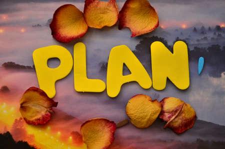 word plan photo
