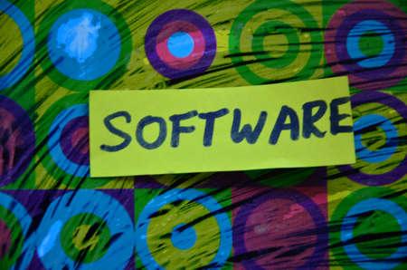 shareware: word software Stock Photo