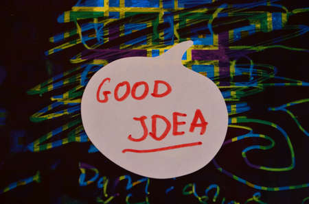 word good idea photo