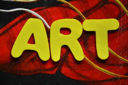 word art: palabra arte