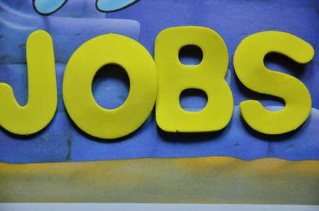 word jobs photo