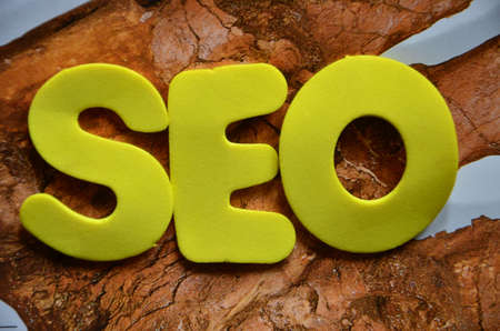 word seo Stock Photo - 20873519