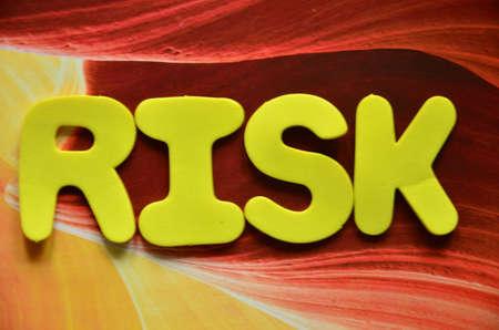 interst: word risk Stock Photo