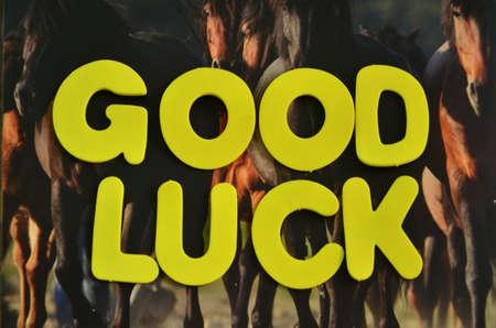 buena suerte: palabra buena suerte