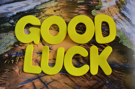 word good luck photo