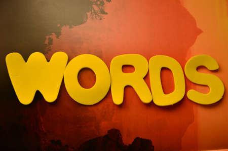 word words Stock Photo - 21291749