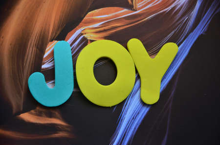 word joy photo
