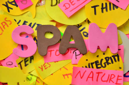 word spam photo
