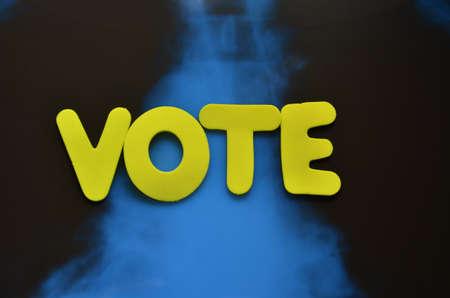 word vote Stock Photo - 21494942