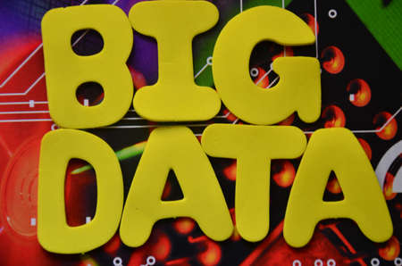 insights: word big data Stock Photo